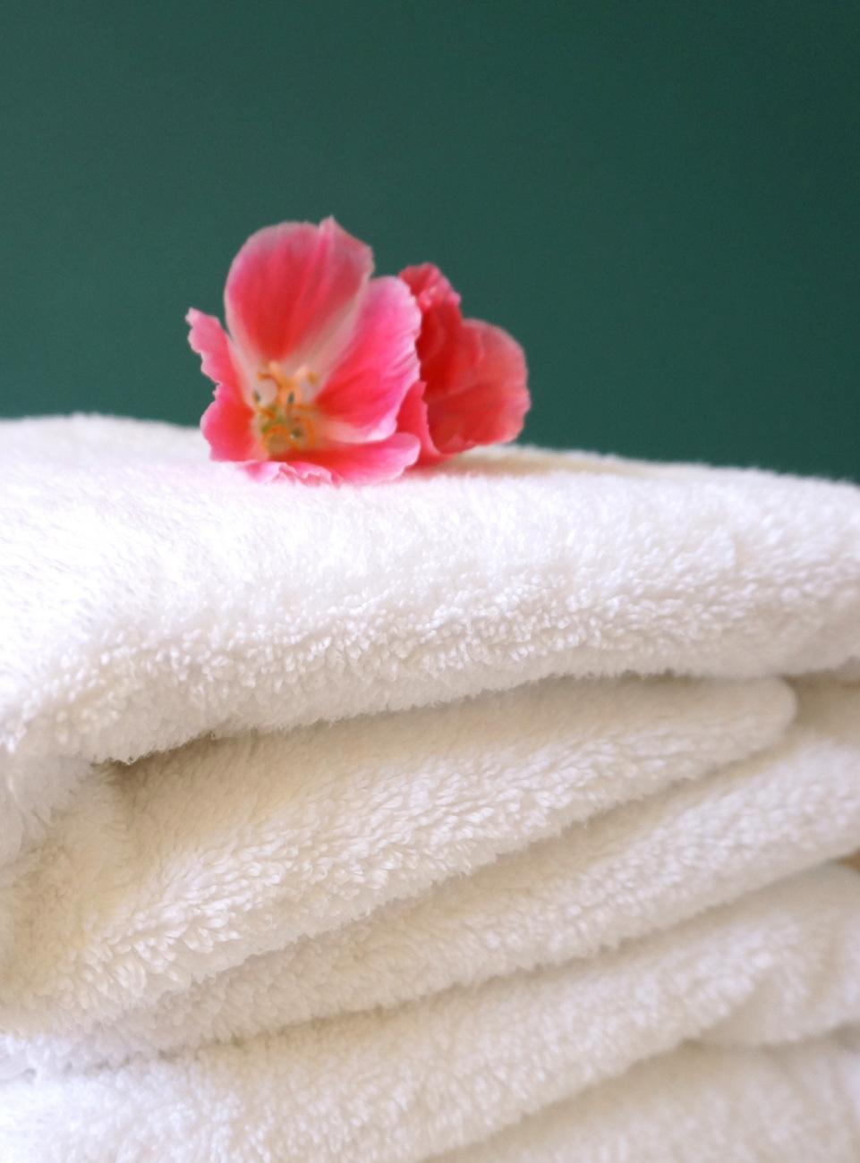 Как сделать чтобы полотенце было пушистым