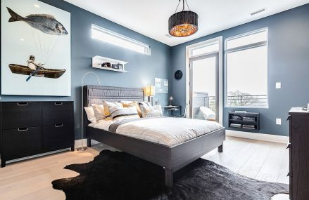 Bright and Trendy: 15 Fabulous Gray and Blue Bedroom Ideas