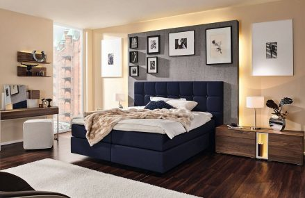 Sweet Dreams: Ultra-Comfortable Boxspring Bed Offers Endless Possibilities