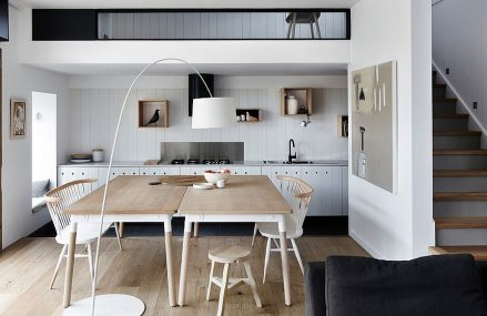 A Sheltered Presence: Best Kitchens under a Mezzanine for a Space-Savvy Home